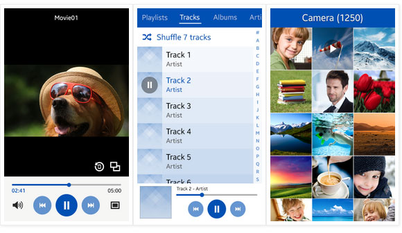 gsmarena 002 Tizen OS 2.3 screenshots reaveal a fresh new look