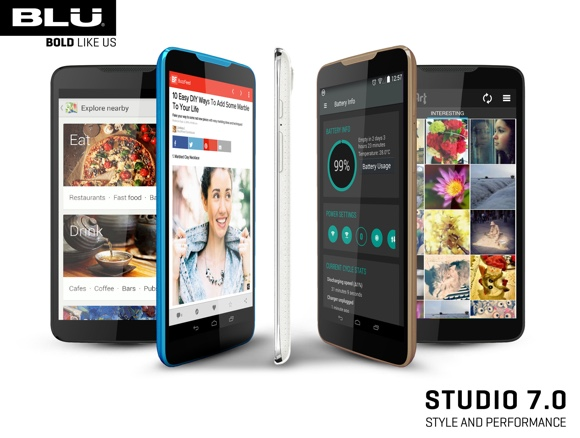 gsmarena 002 BLU Studio 7.0 goes official with large screen and low price