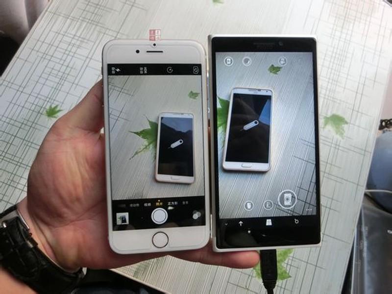 مقایسه دوربین لومیا 1030 با آیفون 6