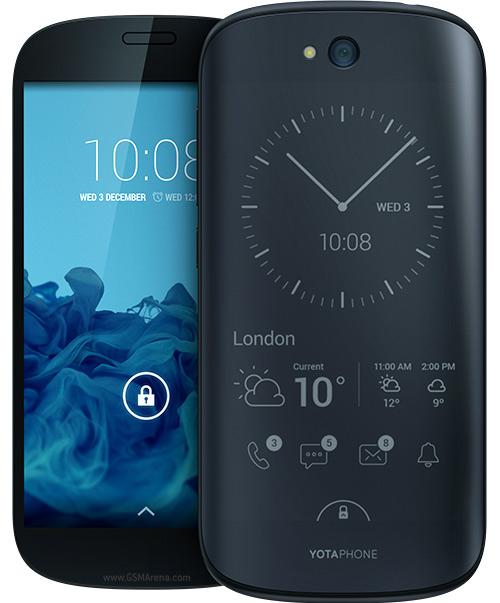 معلومات عن إطلاق الجيل الثاني من الهاتف ذو الشاشتين Yotaphone في انجلترا