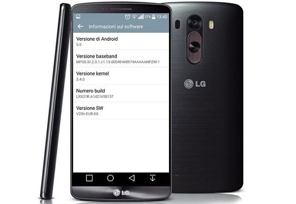 LG G3 primeste o noua actualizare la Android 5.0 in Europa 146