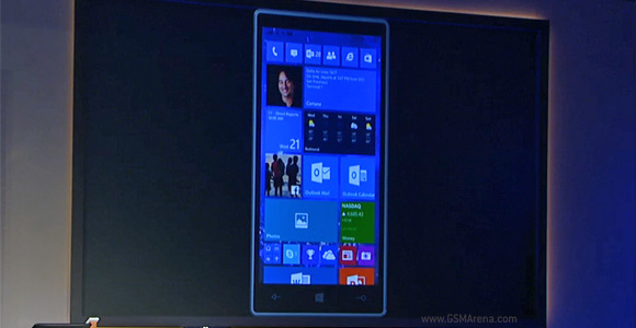 Windows 10 will run on phones share apps with the desktop gsmarena