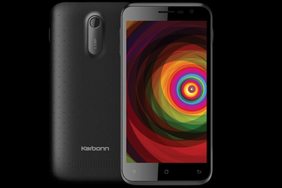 gsmarena 001 Karbonn Titanium Dazzle with 5 inch display launched