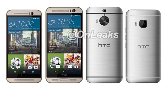 gsmarena 001 Alleged HTC One M9 Plus mockup reveals its design