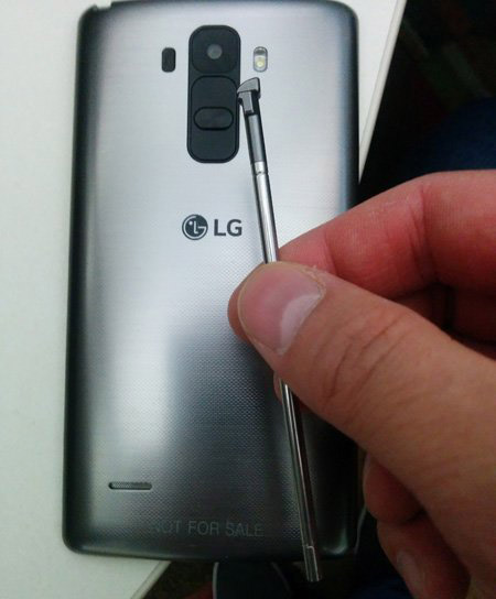 Alleged Image Of LG G4 With A Stylus Spotted