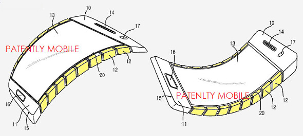 [image]Flexible Samsung Phone Could Be Here Soon After Patent Approval