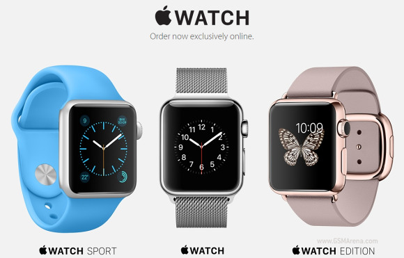 gsmarena 001 Apple Watch now available for sale, back ordered until June