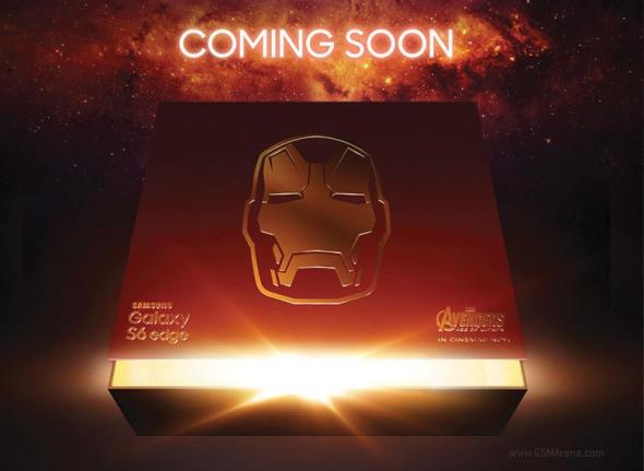 Samsung Galaxy s6 Edge Iron Man Edition នឹងបង្ហាញខ្លួនក្នុងពេលឆាប់ៗនេះ