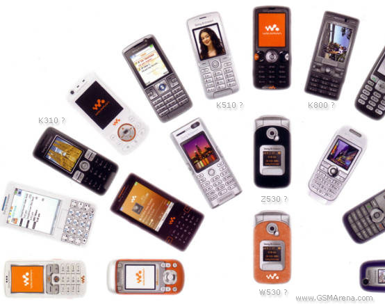 Sony Ericsson expected models