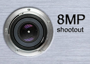 8 megapixel mega shootout: Picture this