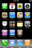 iPhone 3G screenshot