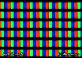 Apple iPhone 5c display matrix