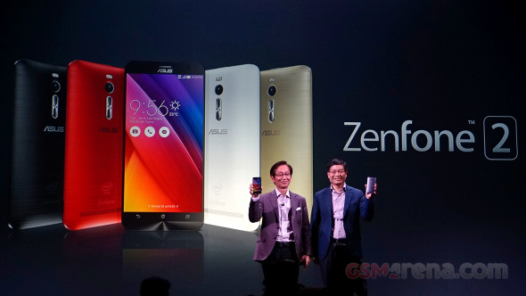Asus Zenfone 2 series hands-on: Second encounter