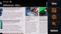 S60 Browser on Samsung i8910 Omnia HD