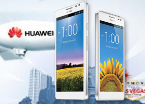 CES 2013: Huawei Ascend Mate, D2 and W1 hands-on