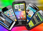 Mobile phone display mega shootout: The full picture