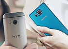 Samsung Galaxy Alpha vs. HTC One mini 2: Metal mania