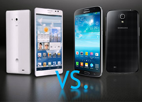Galaxy Mega 6.3 vs. Ascend Mate: Shadows of giants