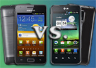 Samsung Galaxy R vs. LG Optimus 2X: Affordable dual-cores - read the full text
