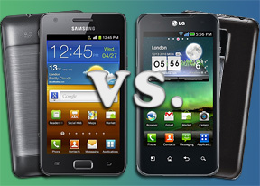 Samsung Galaxy R vs. LG Optimus 2X: Affordable dual-cores