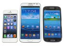 Samsung Galaxy S III vs. Galaxy  Note II