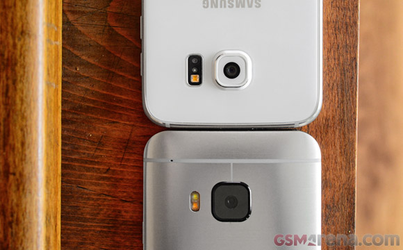 Galaxy S6 vs. One M9