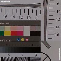 HTC HD mini res chart crop