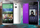 HTC One (M8) vs Sony Xperia Z2: Unsafe mode