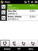 HTC Touch Diamond screenshot