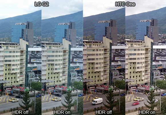 LG G2 vs HTC One: Still camera quality