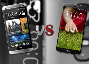 LG G2 vs HTC One: Game of phones