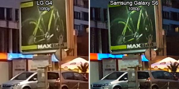 LG G4 vs. Galaxy S6