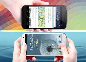 Google Nexus 4 vs. Samsung Galaxy S III: Fan favorites