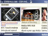 Nokia E51 screenshots
