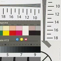 Nokia E72 resolution chart crops