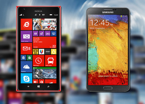Samsung Galaxy Note 3 vs. Nokia Lumia 1520: Bigger, better, faster