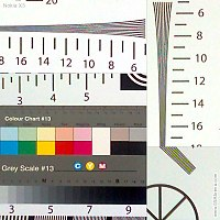 Nokia X3 resolution chart crop