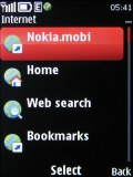 Nokia X3 screenshot