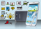 Samsung Galaxy Note II N7100 preview: A closer look