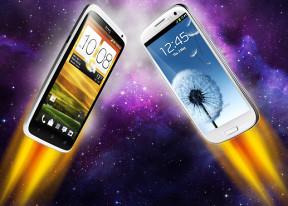Samsung I9300 Galaxy S III vs. HTC One X: Alien vs. Predator