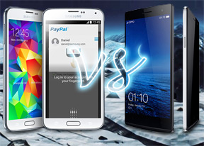 Samsung Galaxy S5 vs Oppo Find 7a: Phantom menace