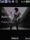 Screenshots of Sony Ericsson W890