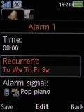 Screenshots of Sony Ericsson W890