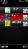 Sony Ericsson Satio screenshot