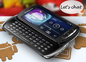 Sony Ericsson Xperia pro review: Social Inc.