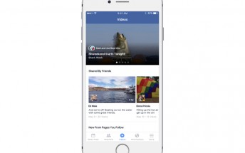 Facebook is now testing a dedicated Videos section
