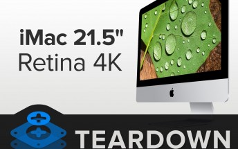 21.5‑inch iMac with Retina 4K display gets iFixit teardown