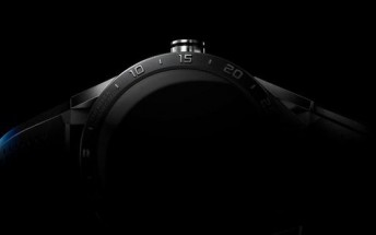 This is the first teaser image of the upcoming Tag Heuer smartwatch