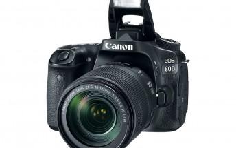 Canon announces EOS 80D DSLR