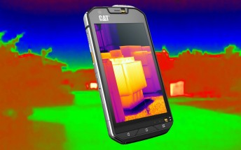 CAT S60: world's first smartphone with built-in thermal camera
